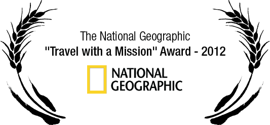 "The National Geographic ""Travel with a Mission"" Award - 2012"