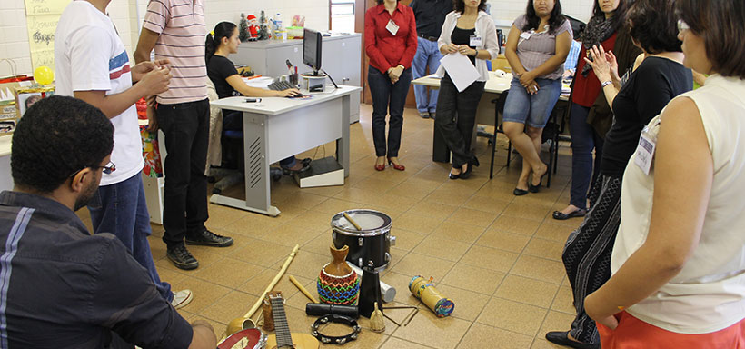Уъркшоп за музика по текстове от методиките на Pre-Texts и Кон-текст в гр. Бразилия, Бразилия (ноември 2012 г.)